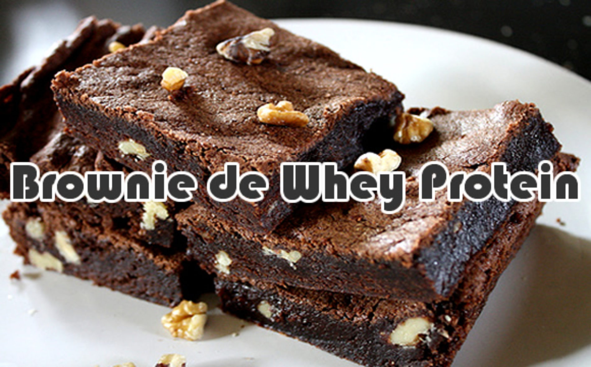 Brownie de Whey Protein Chocolate