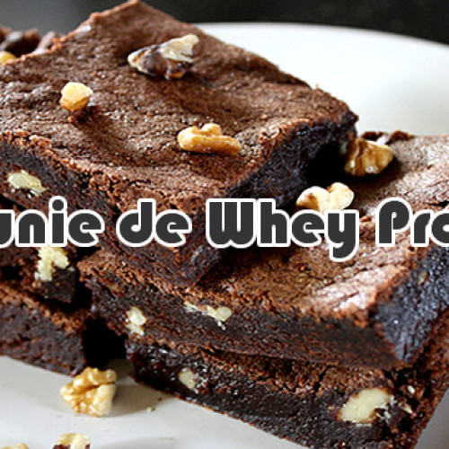 Brownie de Whey Protein Chocolate