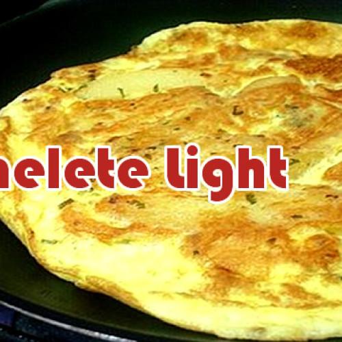 Omelete Light – Só 110 calorias