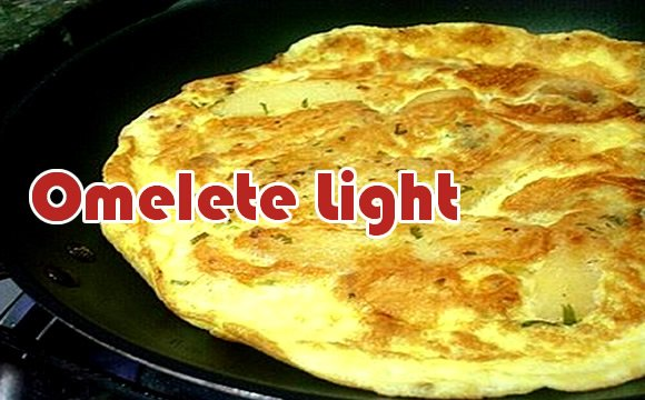 omelete light 100 calorias