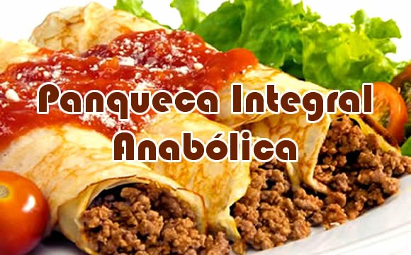 panqueca integral anabolica