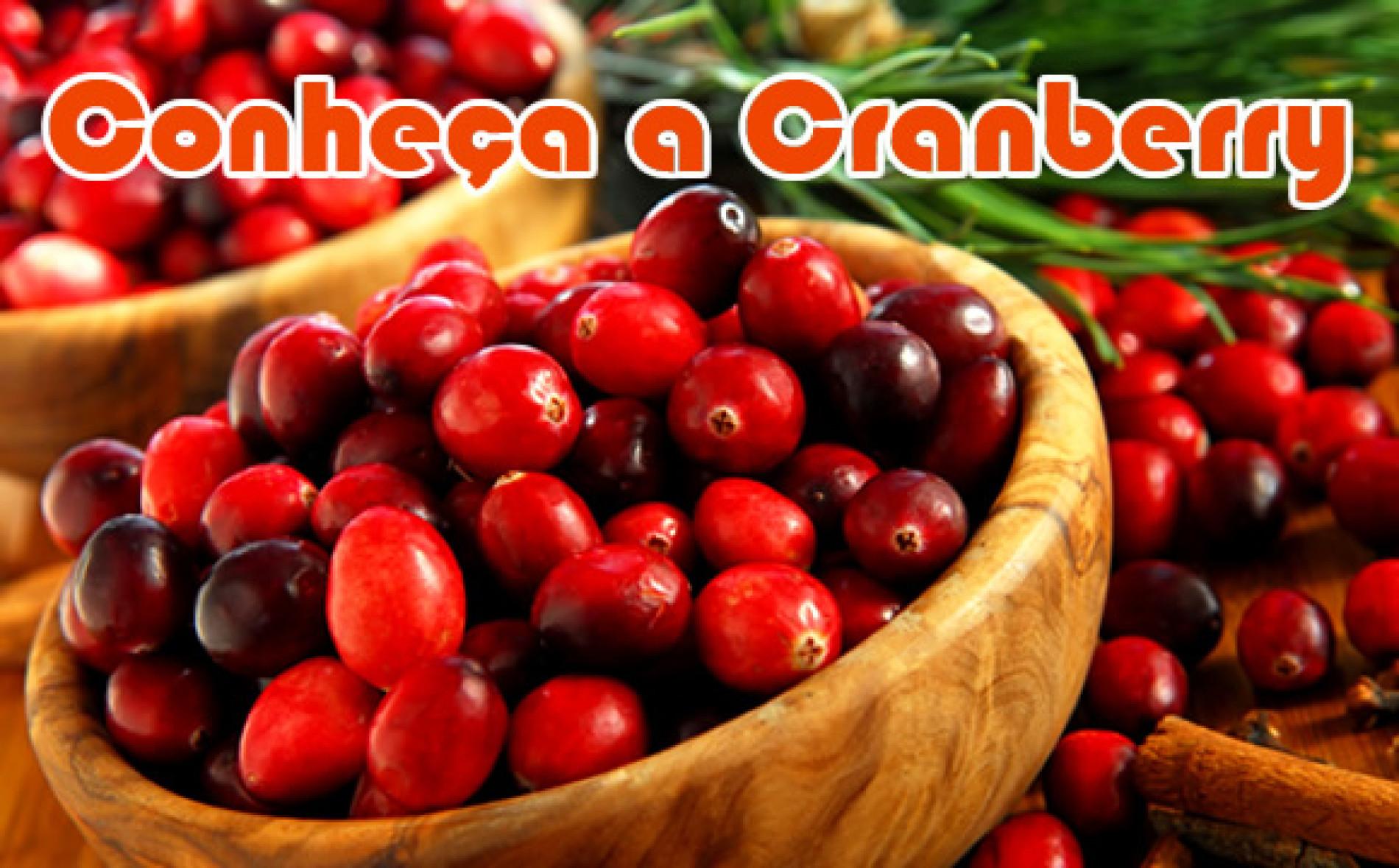 Cranberry a fruta rica em vitamina C e ótima para emagrecer