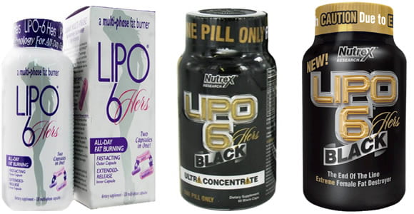 lipo 6 hers, lipo 6 hers black, lipo 6 ultra concentrate hers