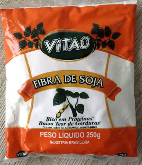 pis fibra de soja embalagem