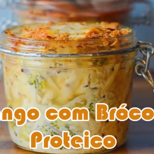 Frango com brócolis na caçarola – Receitas proteicas