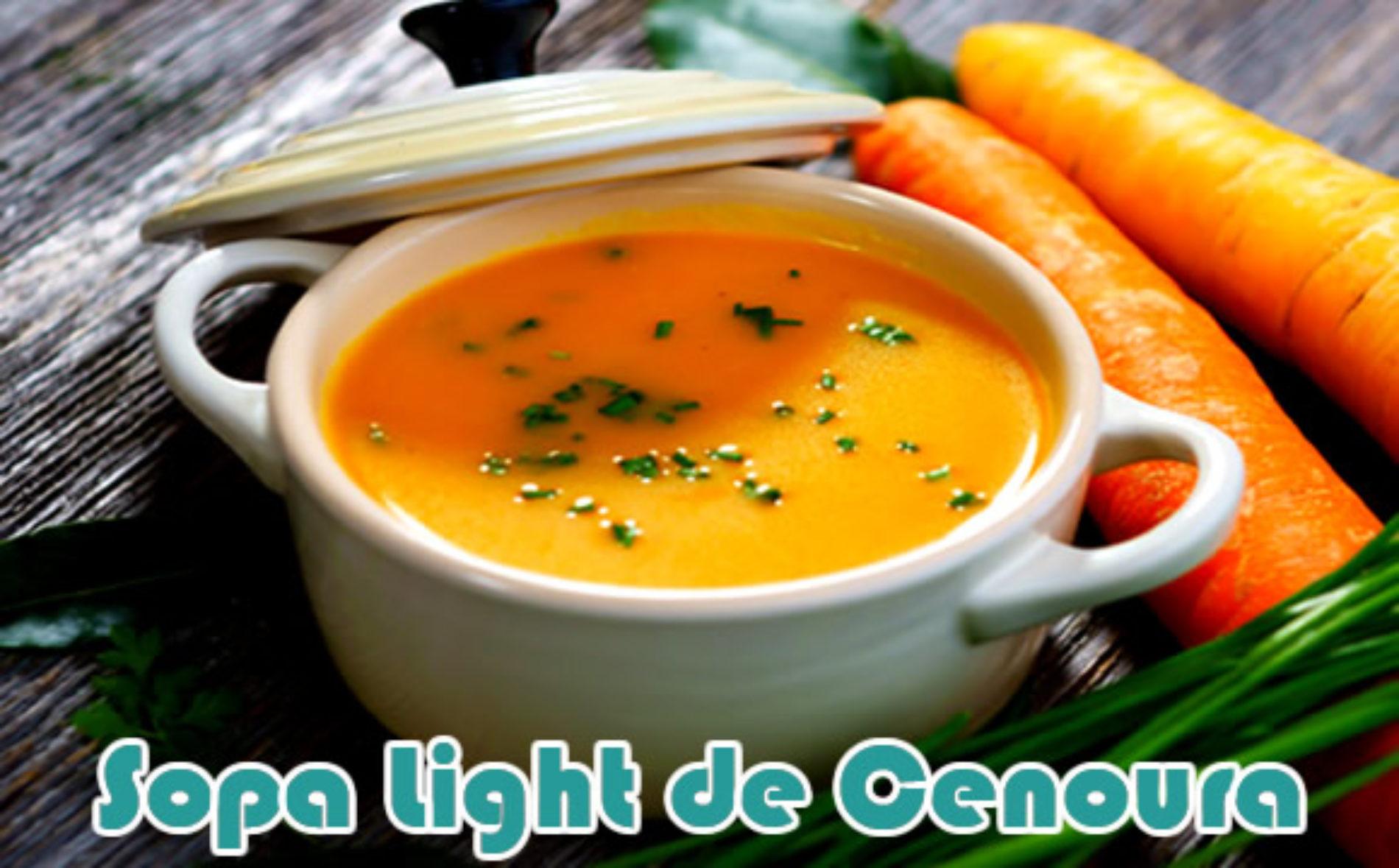 Sopa de cenoura com gengibre e frango para emagrecer