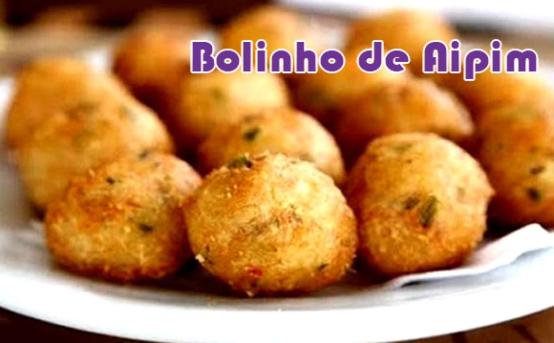 Bolinho de Aipim Gracyanne Barbosa