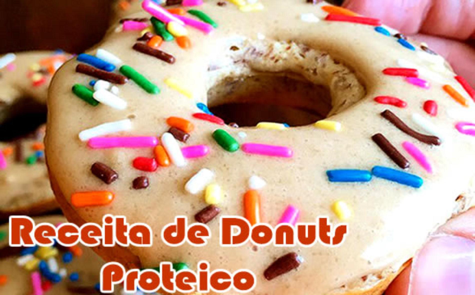Donuts proteico – Receita de rosquinhas ricas em proteínas