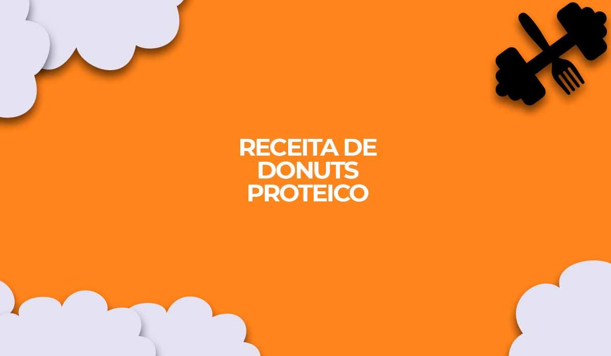 receita donuts proteico