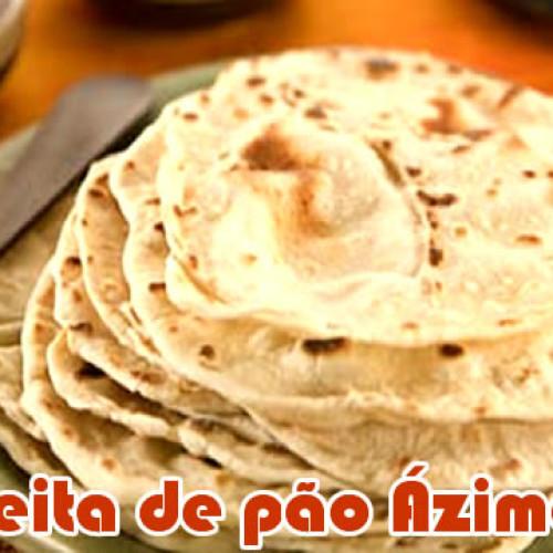 Receita Pão ázimo (asmo) sem fermento