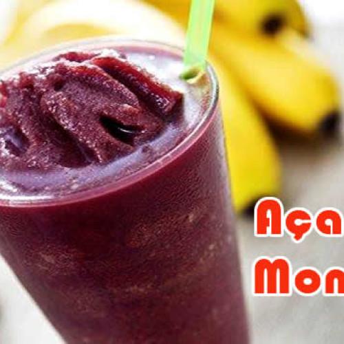 Açai de monstro – Receitas proteicas de verão