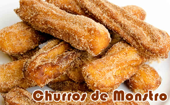 churros proteico monstro