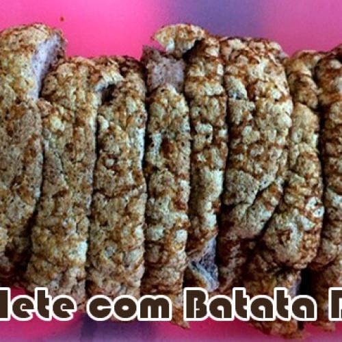 Omelete de Batata Doce Gracyanne Barbosa