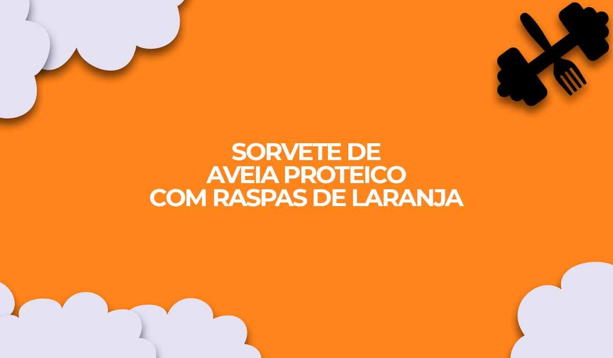 sorvete de aveia proteico com whey