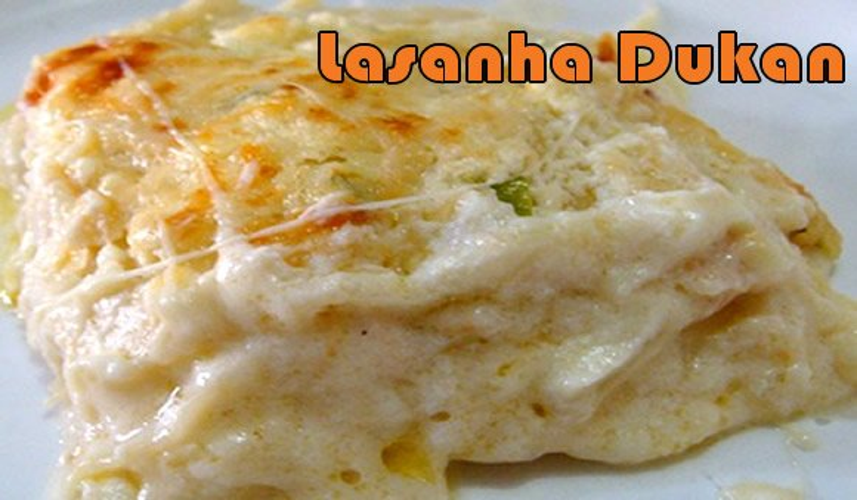 lasanha bolonhesa com queijo dukan