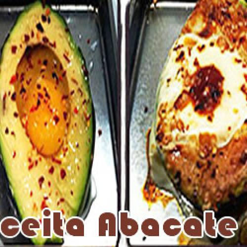 Receita de abacate com ovo – Dieta Paleo
