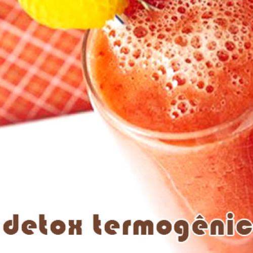 Suco detox termogênico