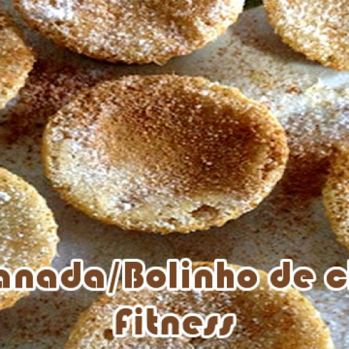 Cupcake rabanada/bolinho de chuva – Receitas fit