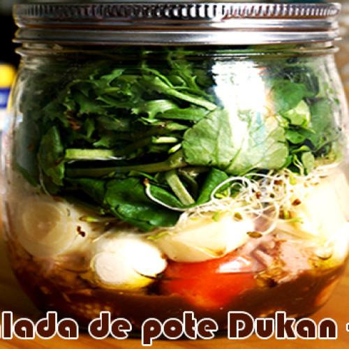 Salada de pote Dukan – Atum