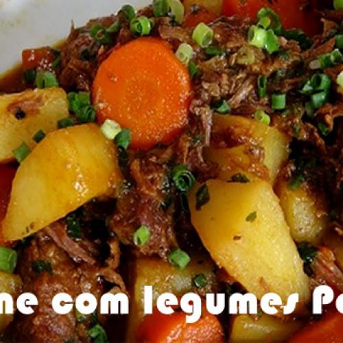 Mexido com carnes e legumes – Dieta Paleo