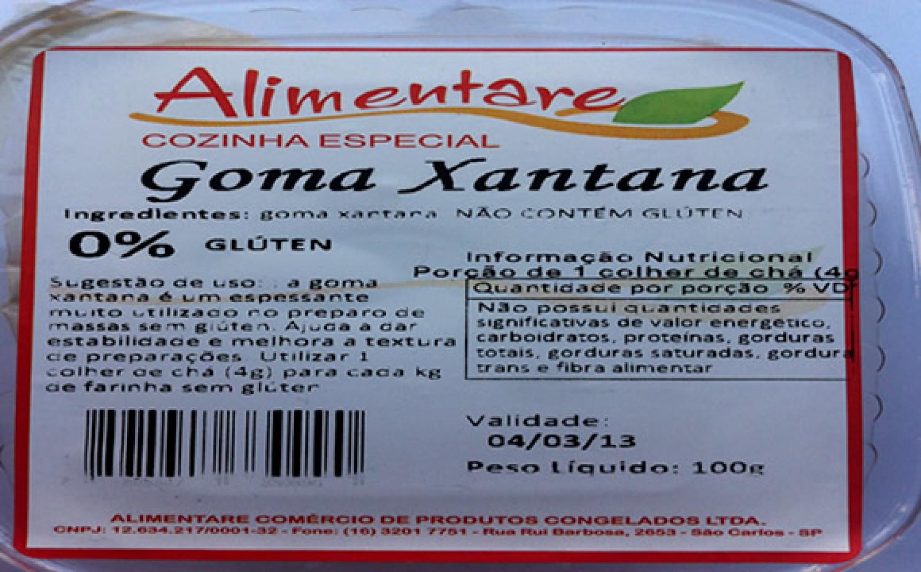 Goma xantana – Seu pão sem glúten mais saboroso