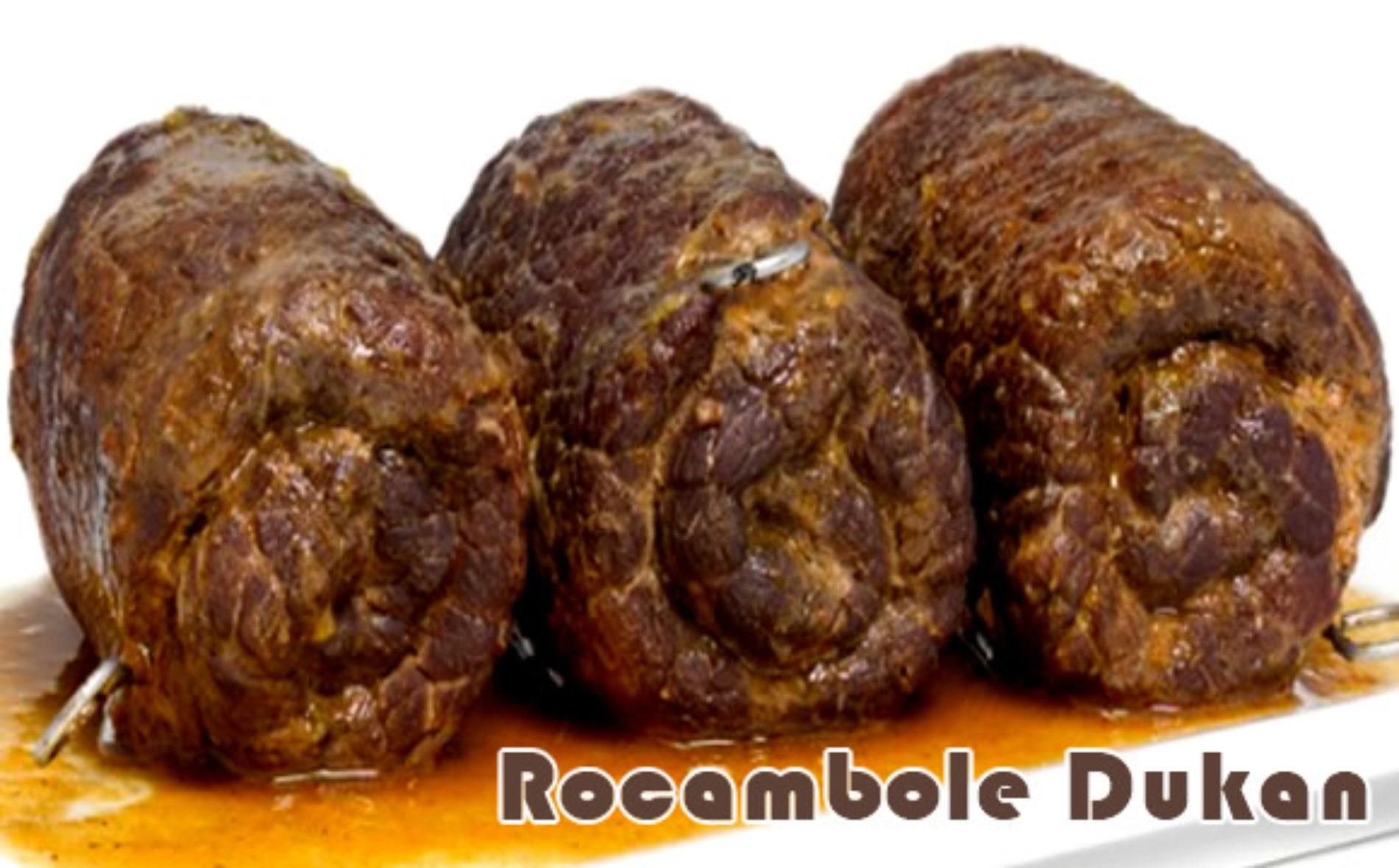 Rocambole de carne no guaraná – Receitas dukan