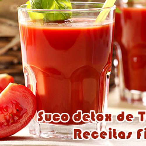 Suco detox de tomate – Receitas fit
