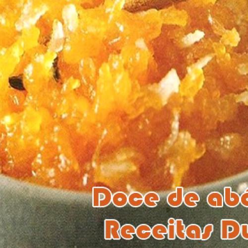 Doce de abóbora com coco ralado – Receitas dukan