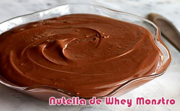 nutella de monstro com whey