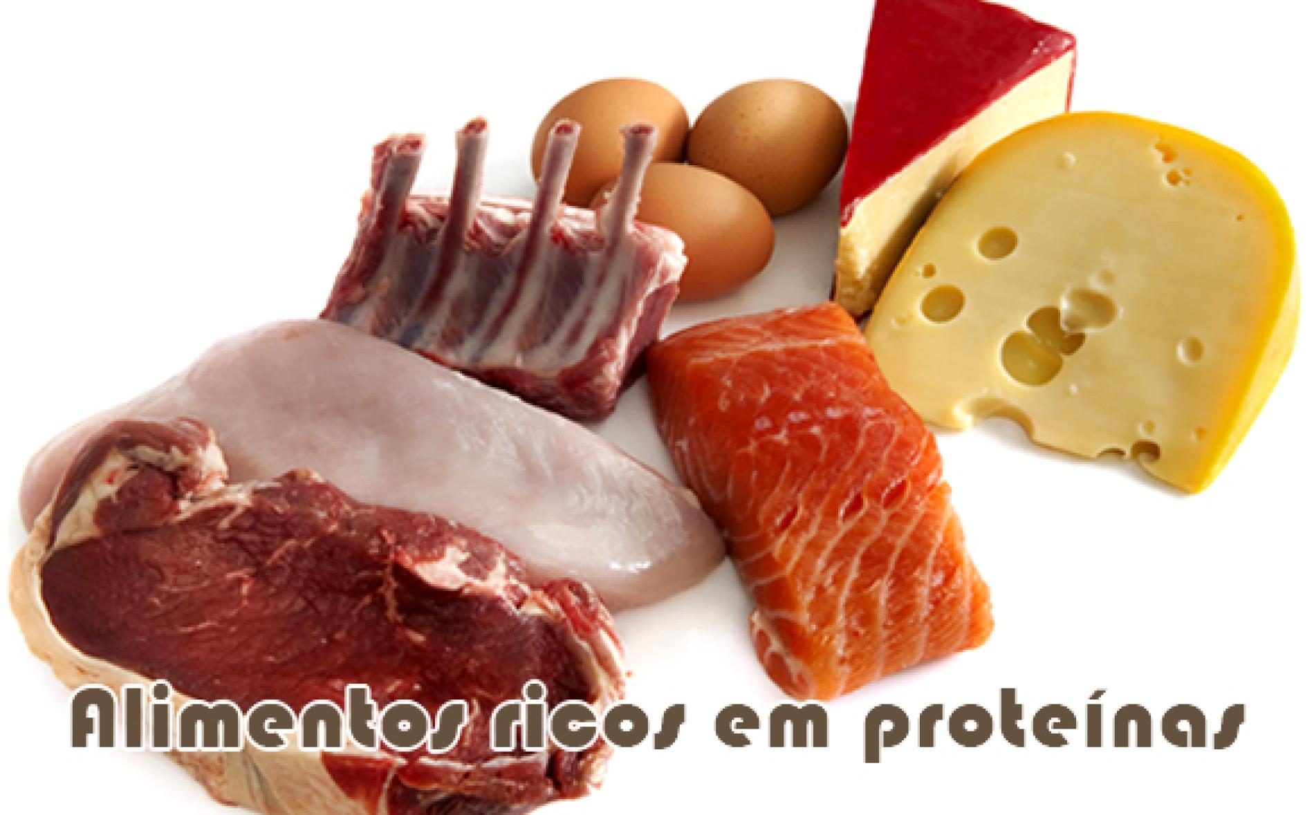 Alimentos que são ricos em proteínas