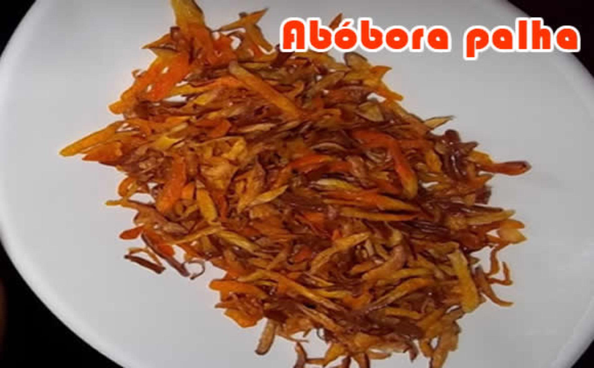 """Abóbora palha – A """"batata"""" palha light"""