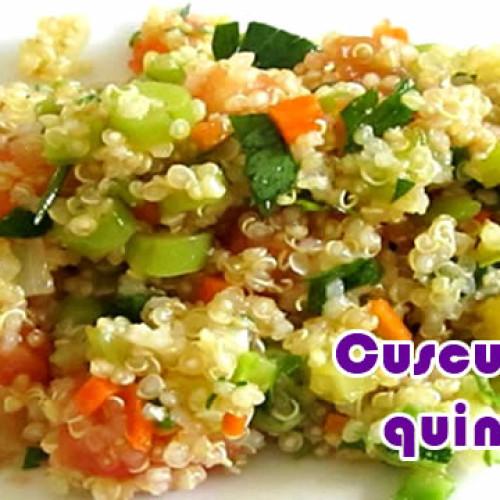 Cuscuz de quinoa com 59 pontos – Dieta dos Pontos
