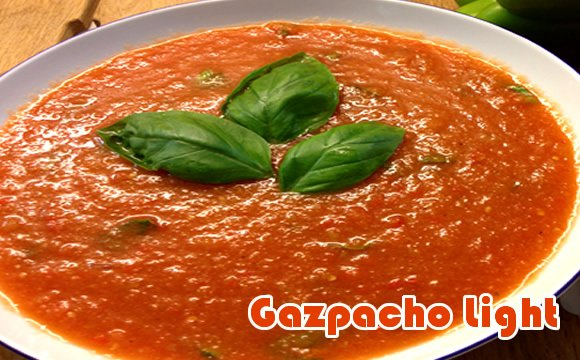receita light de gazpacho
