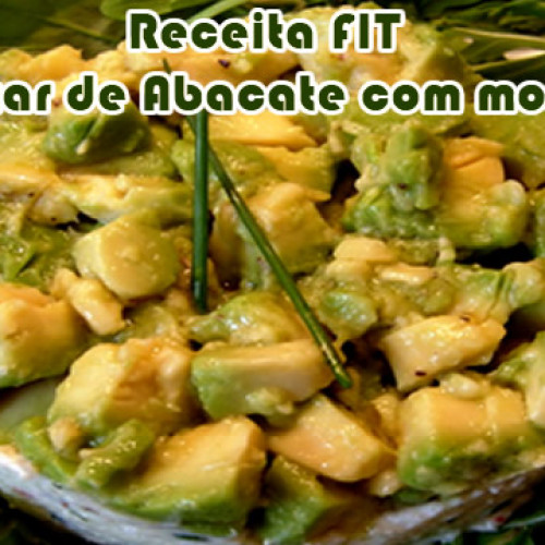 Tartar de abacate – Receitas light