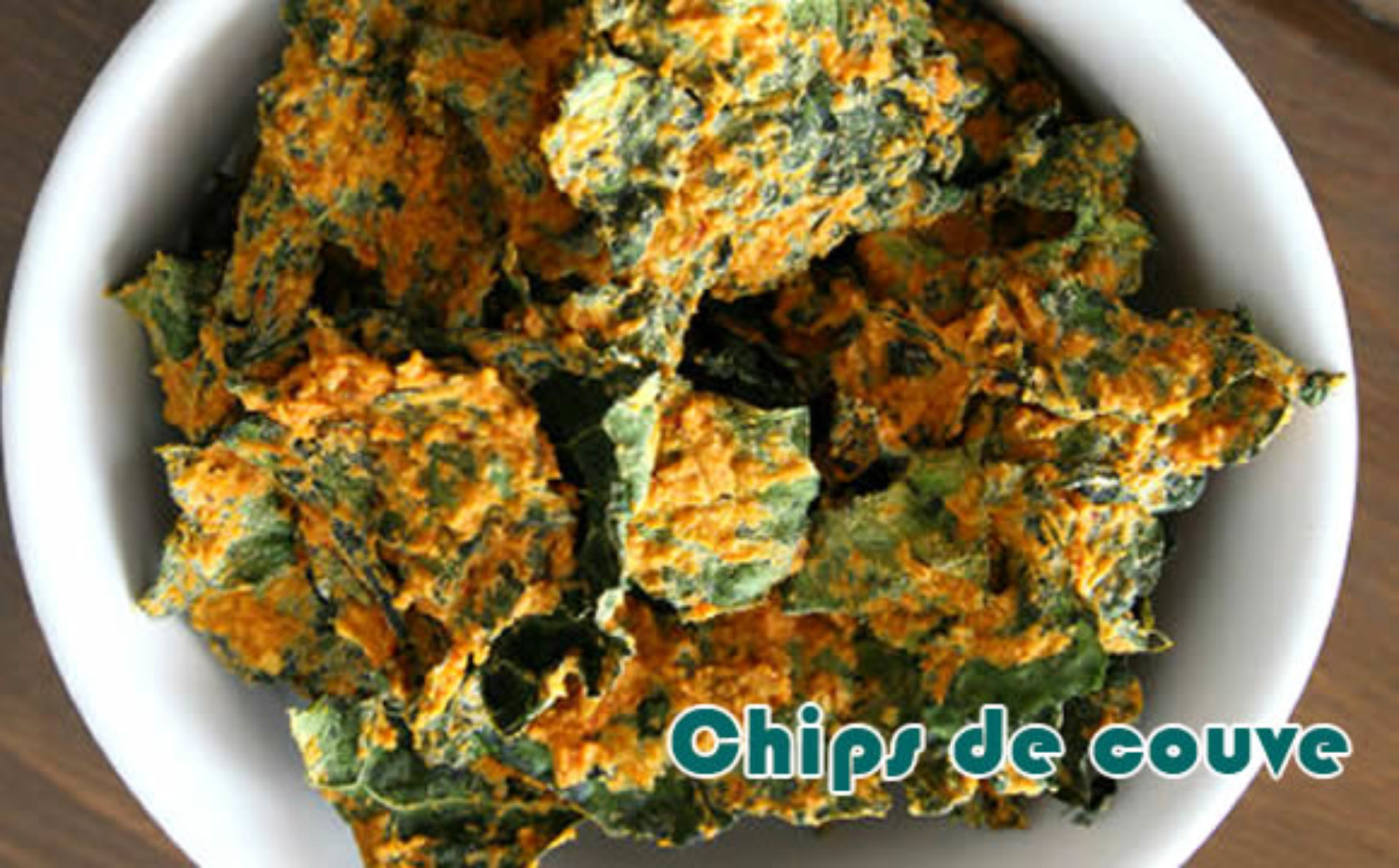 Salgadinho chips de couve – Receitas fit
