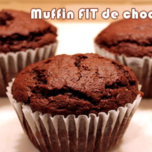 Muffin de chocolate – Receitas Fit