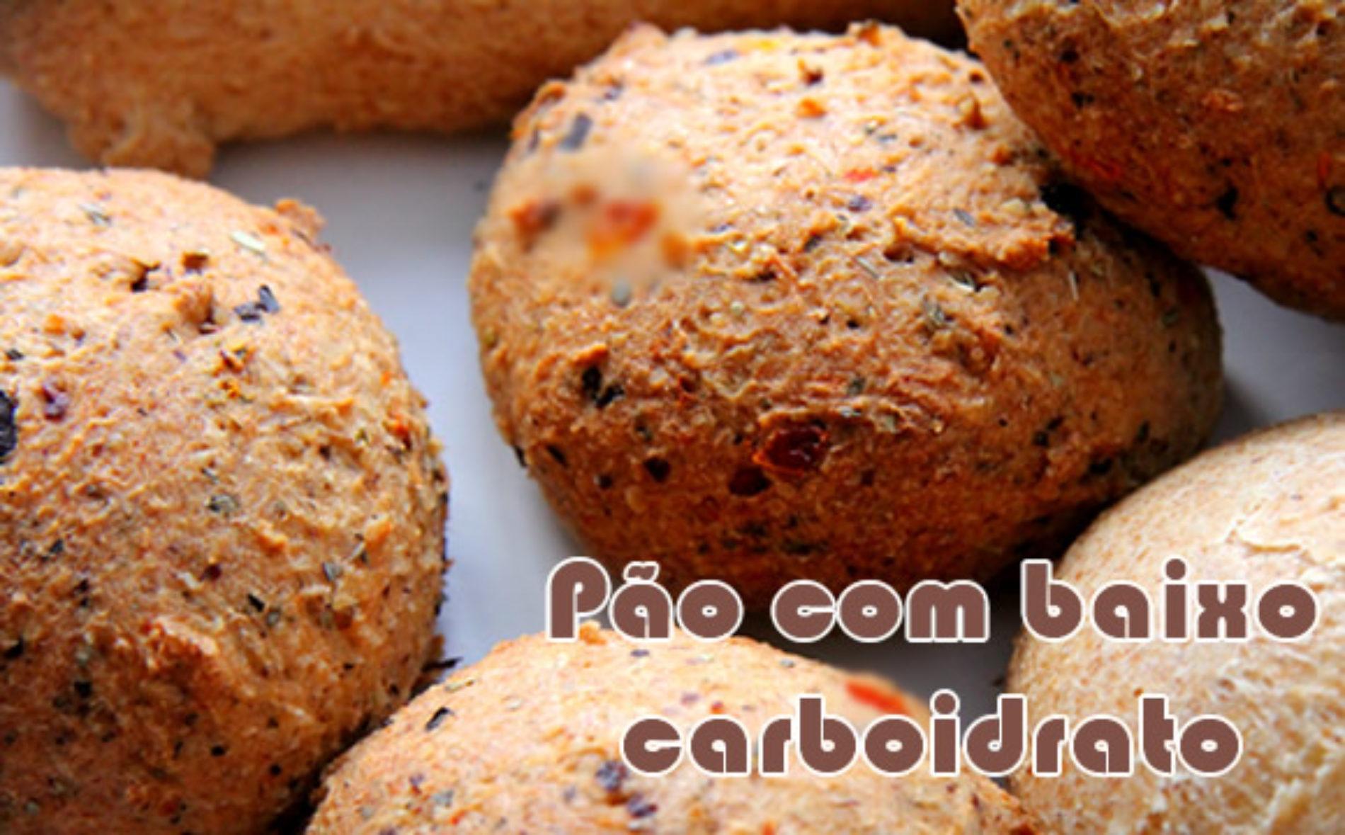 Mini pão salgado – Receitas low carb
