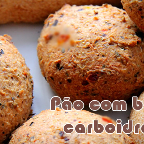 Mini pão salgado – Receitas low carb