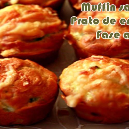Muffin salgado – Receitas dukan