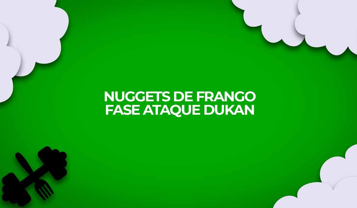 receita nugget de frango fase ataque dukan