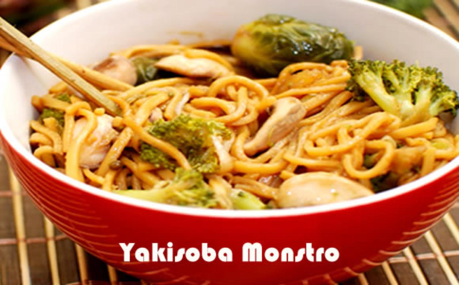 Yakisoba Monstro – Receitas proteicas