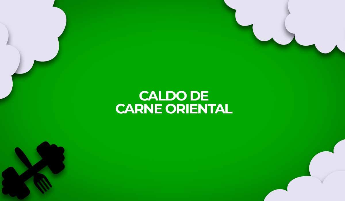 receita caldo de carne oriental dukan