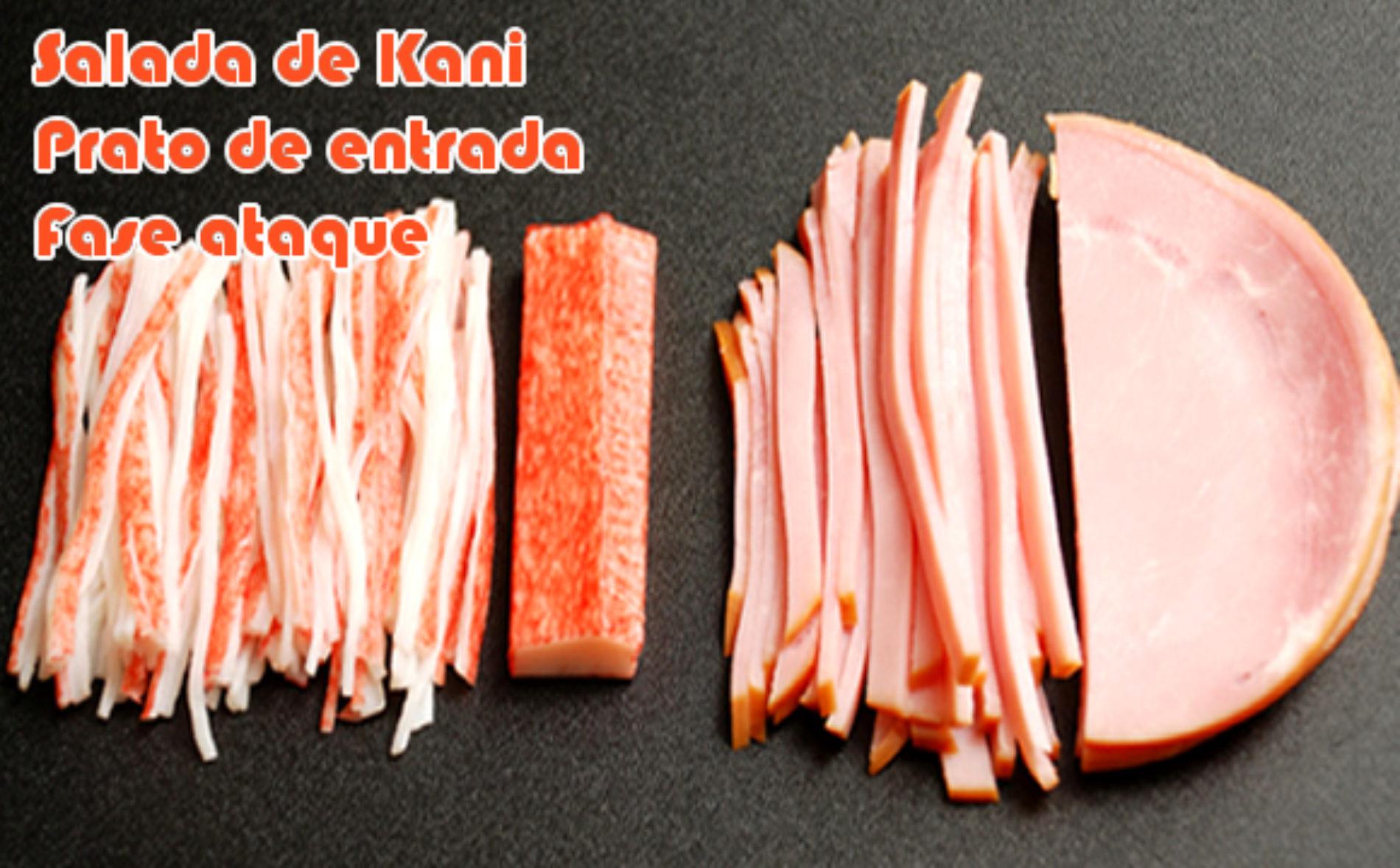 Salada de Kani ataque