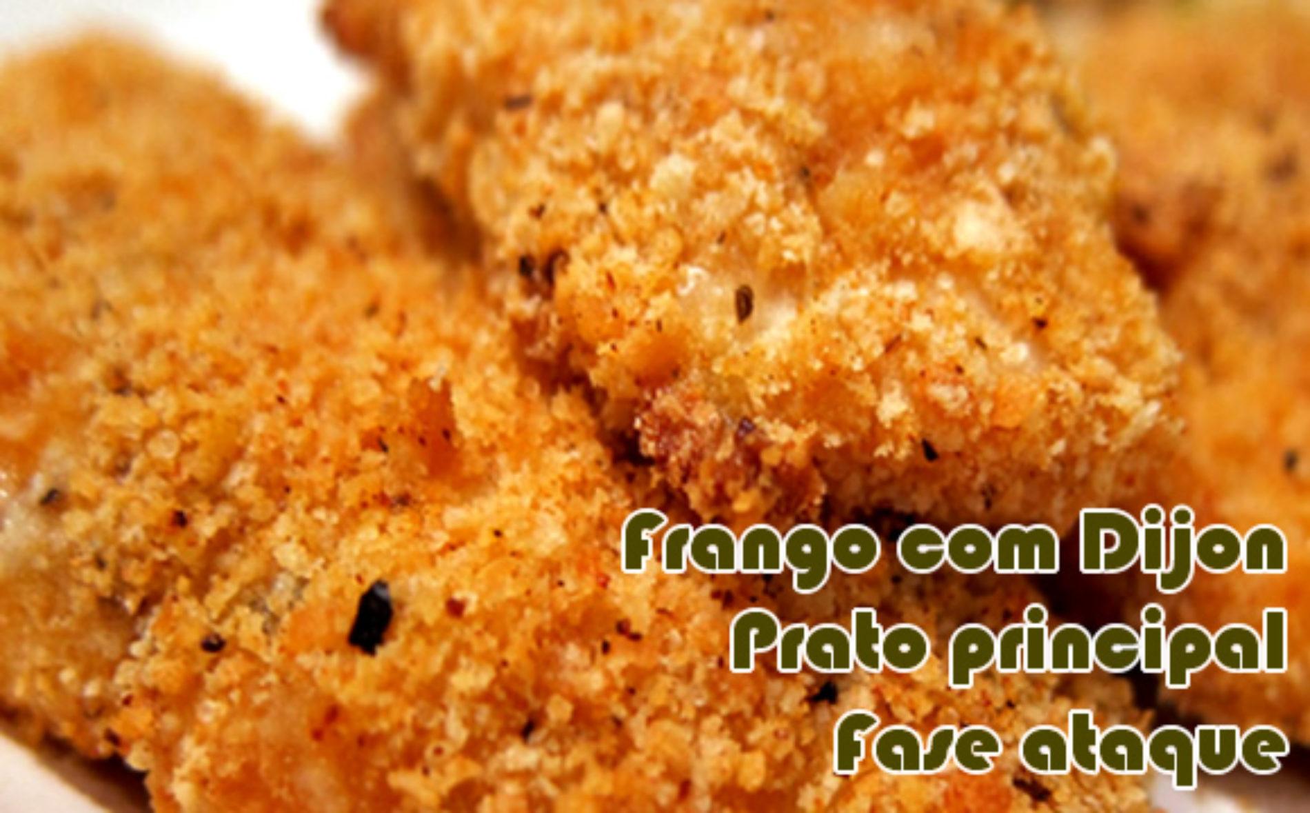 Frango com mostarda Dijon