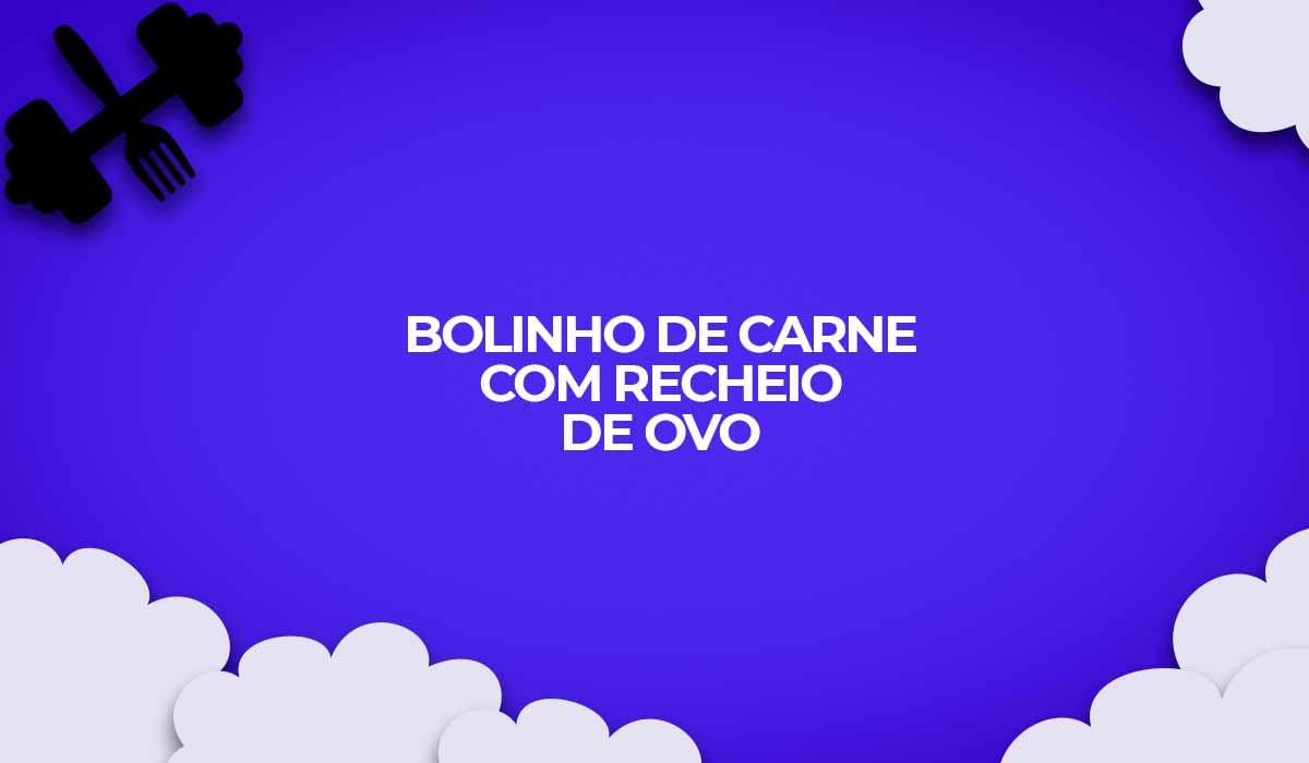 receita bolinho carne moida com ovo