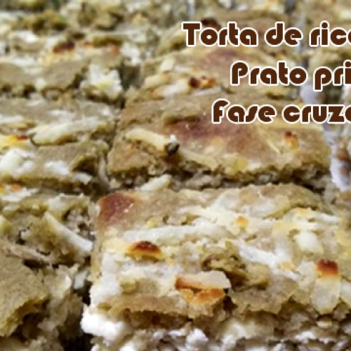 Torta caseira de ricota – FIT