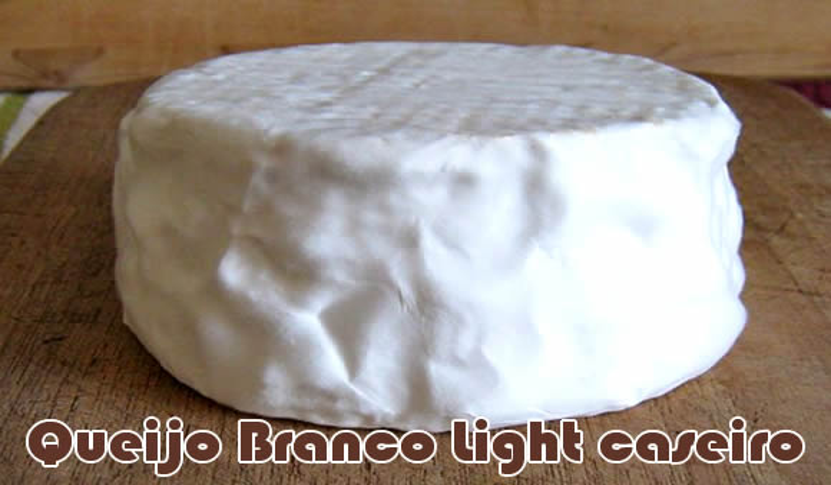 como fazer receita queijo branco light fit caseiro