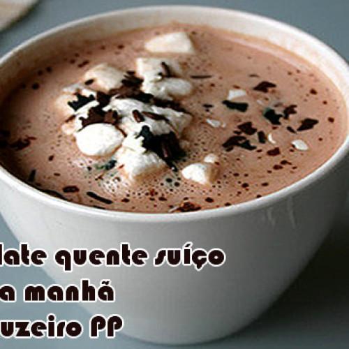 Chocolate quente suíço Fake