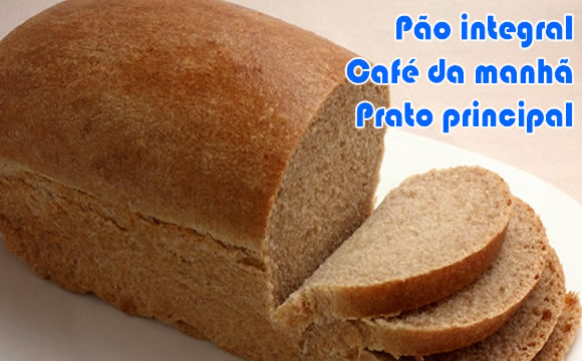 Pão integral com farelos dukan