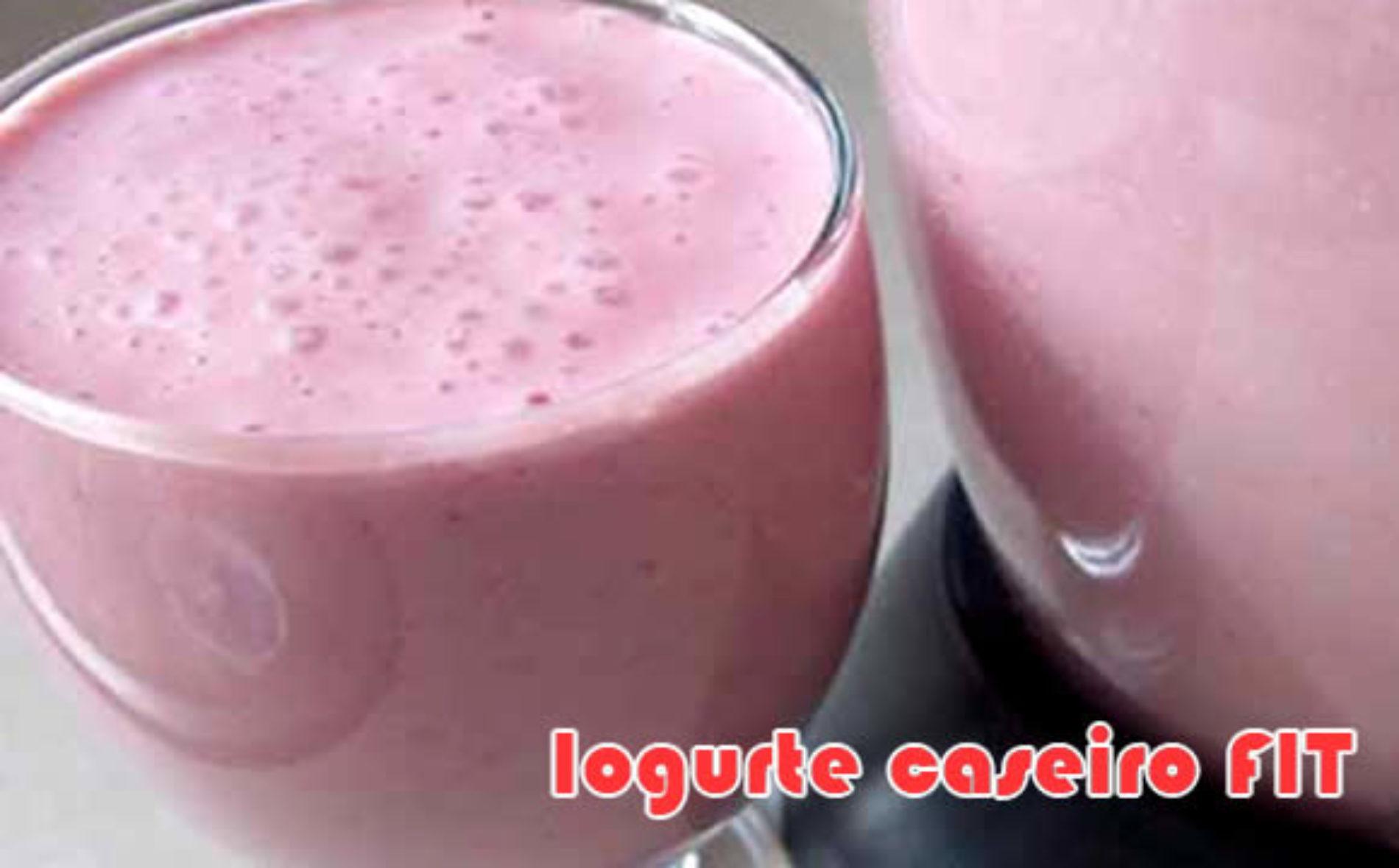 Como fazer iogurte FIT de diferentes sabores